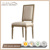French Provincial Wooden Chairs antique armchair Dining Room Furniture Wholesale