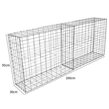 Welded Mesh Galvanized Wire mesh Gabion Box
