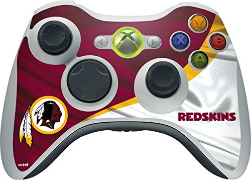 NFL Washington Redskins Xbox 360 Wireless Controller Skin - Washington Redskins Vinyl Decal Skin For Your Xbox 360 Wireless Controller