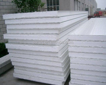 Heat Resistant Insulated Long Span Aluminum Roof Panel / Wall Foam  Protection