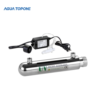 agua topone 99.99% sterilization stainless steel uv led water treatment system