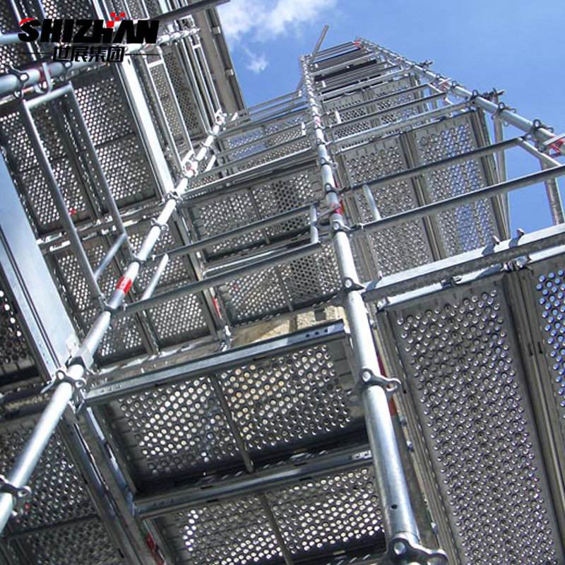 China Suppliers Hot Galvanization Aluminum Scaffolding System
