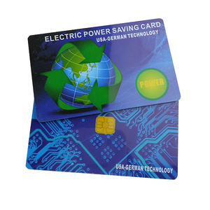 Nano Fule Electric Electricity Saving Cards , German Tech Mtg Saver Card Blue Color 16000 CC Inside