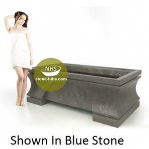 stone bathtub factory walk in square shape soaking tub for fat people