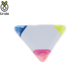 Triangle 3 Colors New Design Cheapest Child Fluorescent Highlighter Pen