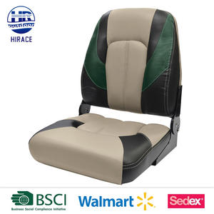 UV and mildew-resistant Soft Touch pontoon seats