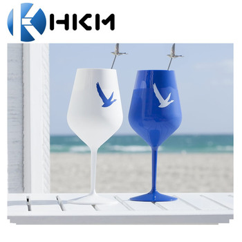 d8780cf4c89 47cl 500ml 17.5oz Plastic Wine Glass