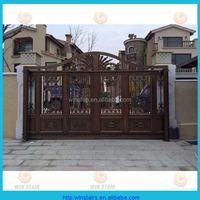 Cast Aluminum Automatic Gate Design - Buy Front Gate Designs,Main ...