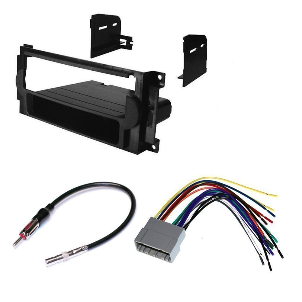 Cheap Car Radio Wire Diagram Find Deals On 1982 Dodge Rampage Wiring Get Quotations 2006 2008 Ram Stereo Dash Install Mounting Kit Harness Antenna Package