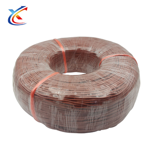 0.75 mm sq silicone rubber coated 12 v coated heating wire