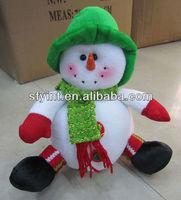 Christmas snowman doll