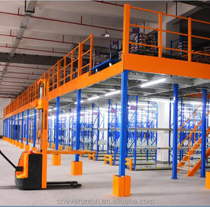 Storage platform racking with heavy loading capacity