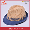 S3129 new fashion 2017 summer hats jazz fedora men hats trilbys