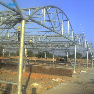 Agricultural greenhouse morocco with agricultural equipment
