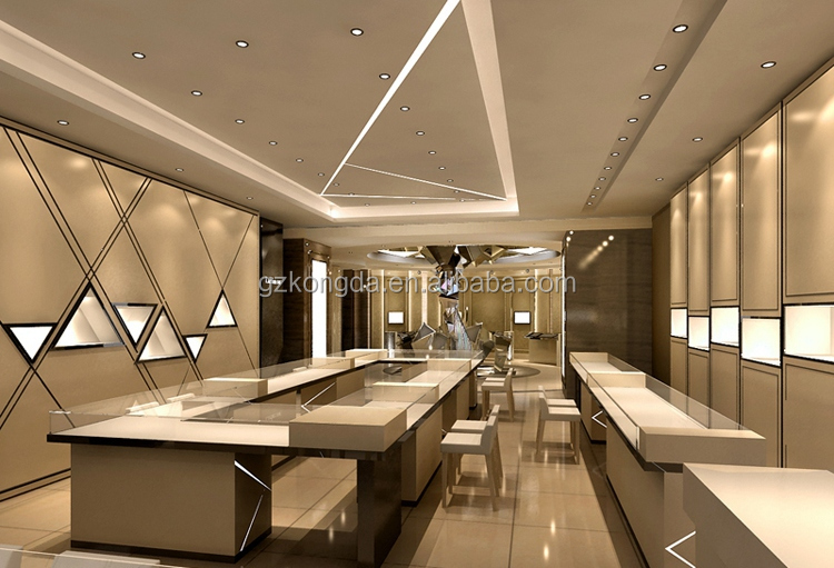 Luxury Store Vancouver Canada Jewelry Showcase With Lock