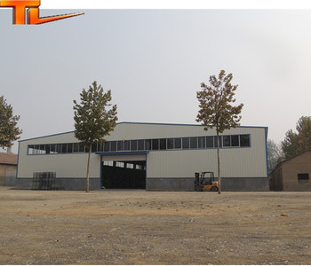 China design friend environmental steel structure project