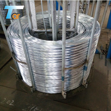 hot dipped galvanized iron wire /HDG wire gauge 1.0-7.0 mm good quality