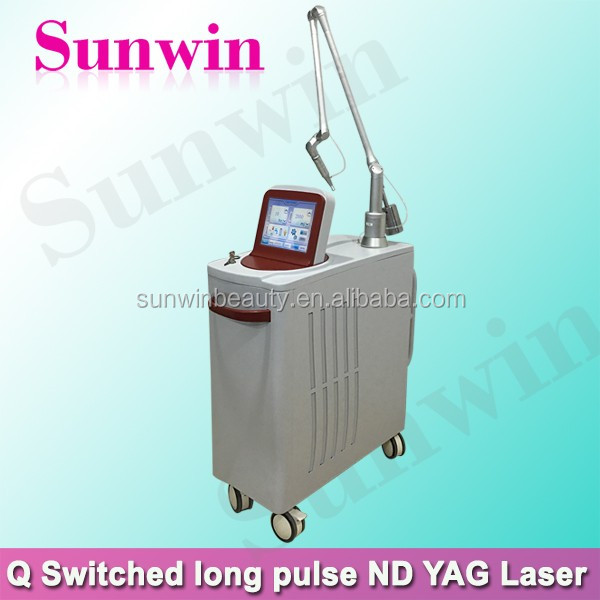 Laser tattoo removal ,chloasma removal,nevus of ota removal equipment Q-switch ND YAG Machine
