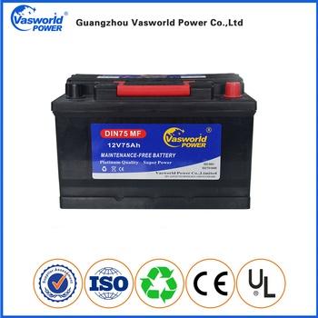 Hot Sale Myanmar Market Auto Battery Mf Car Battery 12v 75ah - Buy Myanmar  Market Car Battery,Myanmar Mf Car Battery,Myanmar Battery 12v 75ah Product