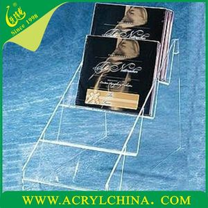2013s Acrylic CD DVD Holder/ Display Stand