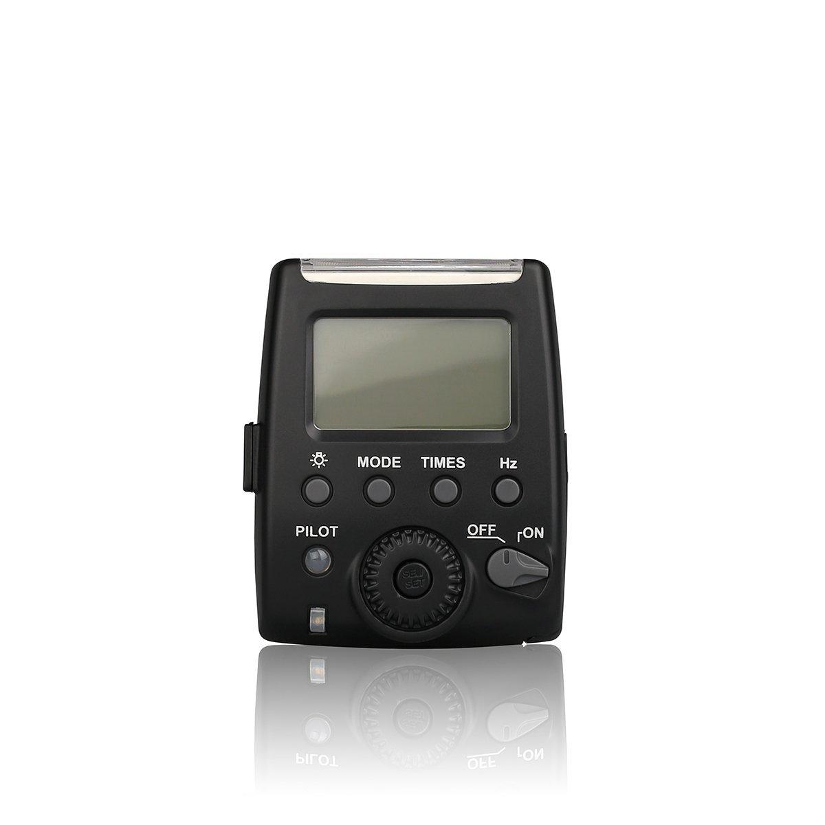 Meike MK-300C Mini LCD Screen E-TTL TTL On-camera Speedlite Flash Light for Canon 5D Mark III II 60D DSLR Camera (with Mini USB Interface)