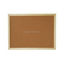 white framed bulletin cork pin board