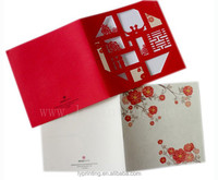 Custom high quality Christmas card new year greeting card printing