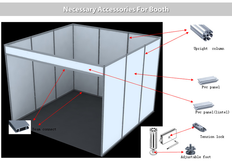 Exhibition Booth Materials : Fashion reusable portable modular exhibition booth view modular