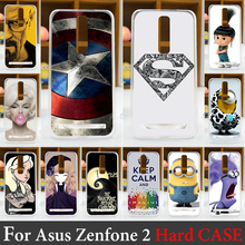 For Asus Zenfone 2 ZE551ML Case Hard Plastic Mobile Phone Cover Case DIY Color Paitn Cellphone Bag Shell  Shipping Free