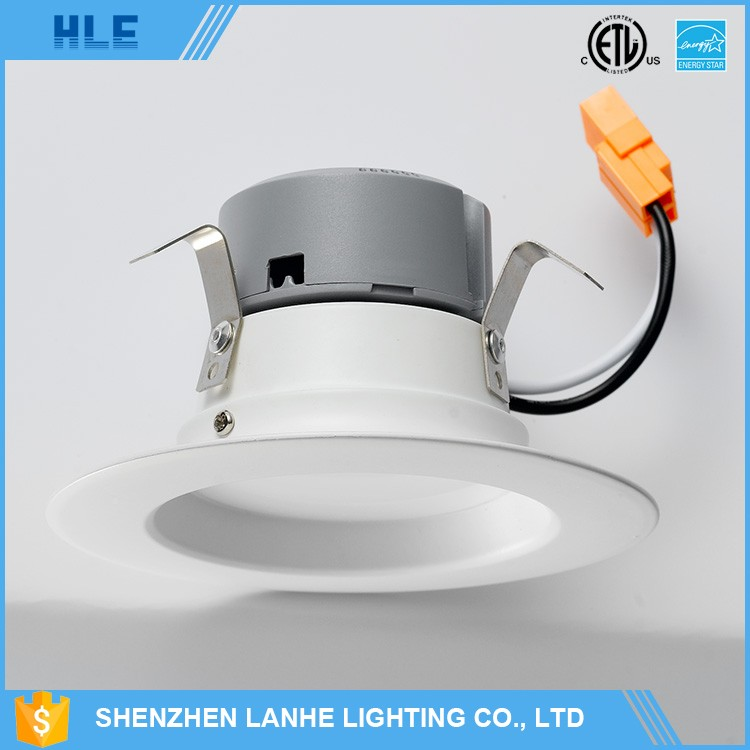 5 Years Warranty cUL UL etl 4Inch Led Retrofit Recessed Lighting LED Down lights with E26 E27 GU10 GU24 Connector