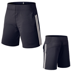 OEM mens elasticated waist cotton shorts running sport clothing