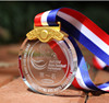 Crystal Glass Medals