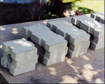 Fly ash lightweight foam concrete block making plant clc for Cement foam blocks