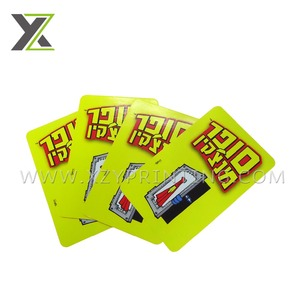 Various new design high quality sports paper card printing