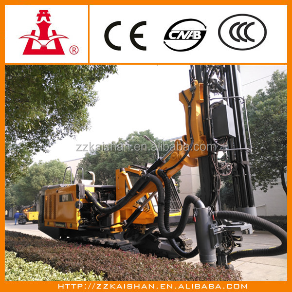 Mining/Quarry/Blasting drilling rig companies in China/KAISHAN company well known product KT10