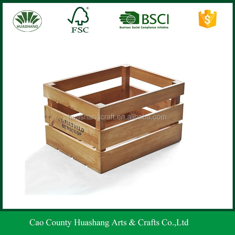 Customized wholesale wooden wine boxes wooden fruit crates for Where to buy used wine crates