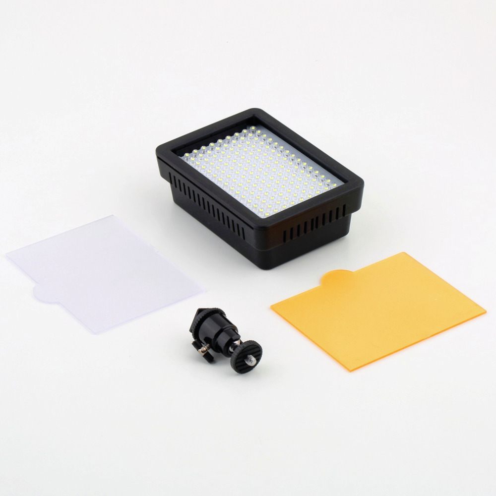 Камеры HD 160 из светодиодов видео свет лампы 12 Вт 1280LM 5600 К / 3200 К диммируемый для канона для камеры Nikon DSLR видеокамера