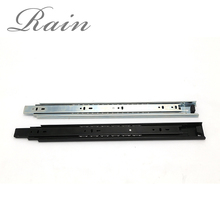 Wholesale furniture drawer strip steel sliding rail