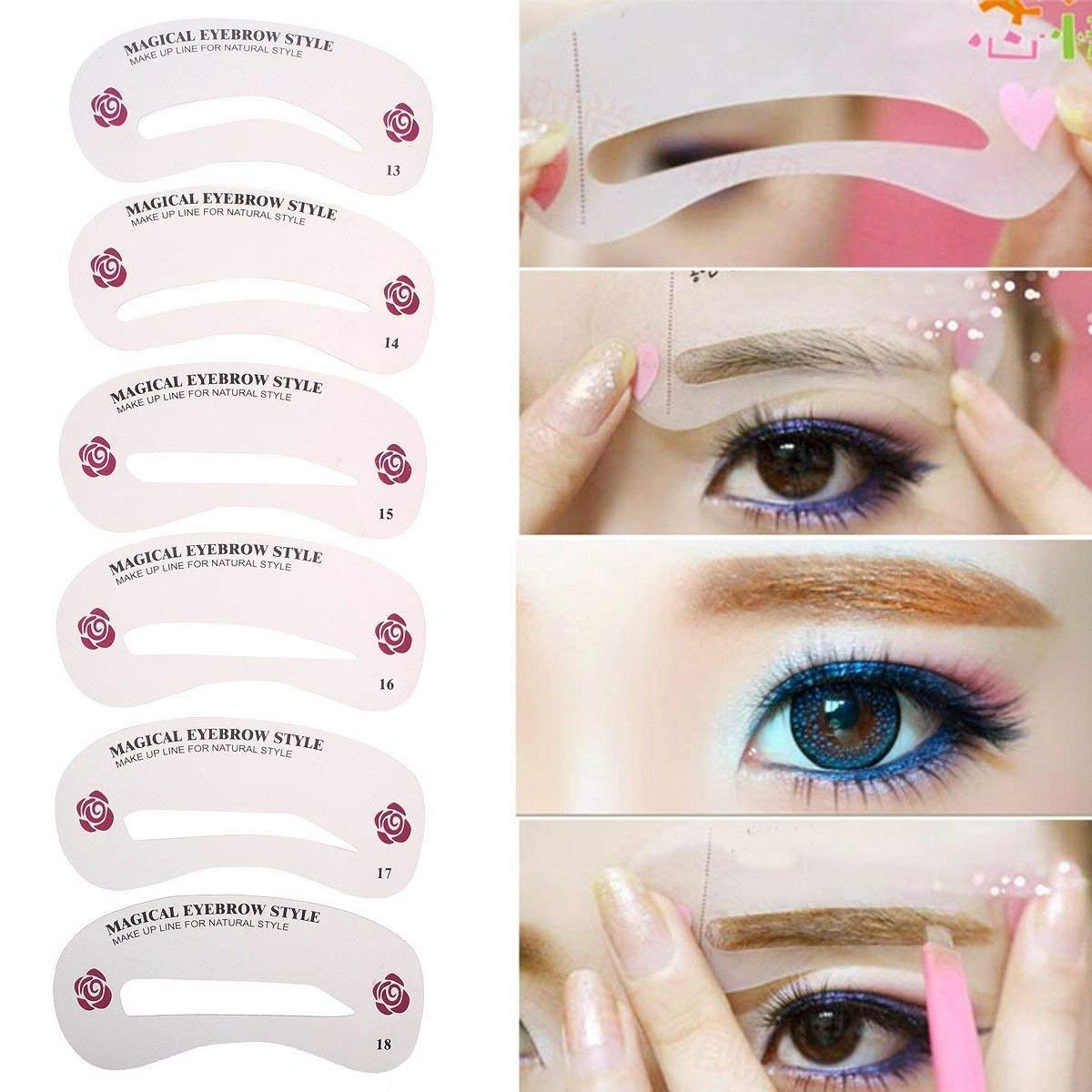Cheap Eyebrow Plastic Templates Stencil Find Eyebrow Plastic