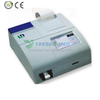YS-HR201 Medical Devices Color LCD Touch Screen Clinical Immunoassay Analyzer