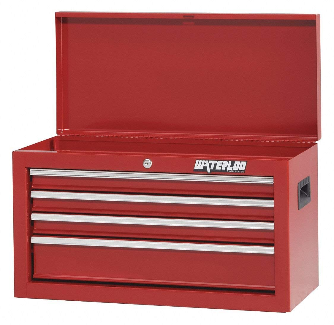 "Red Light Duty Top Chest, 15-3/16"" H X 26"" W X 12"" D, Number of Drawers: 4"