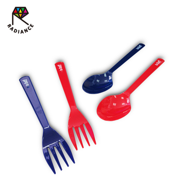 16cm Janpan quality Plastic spones and forks with high quality and low price
