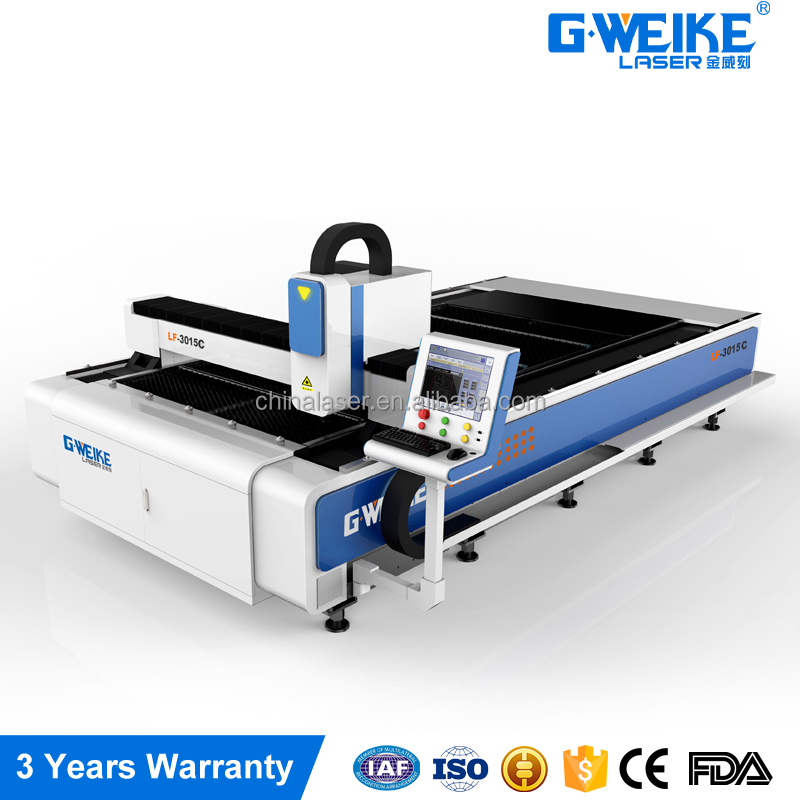 CNC 500w 700w 1000w 1.5kw 2kw Carbon Steel,Stainless Metal Sheet Cnc Fiber Laser Cutting