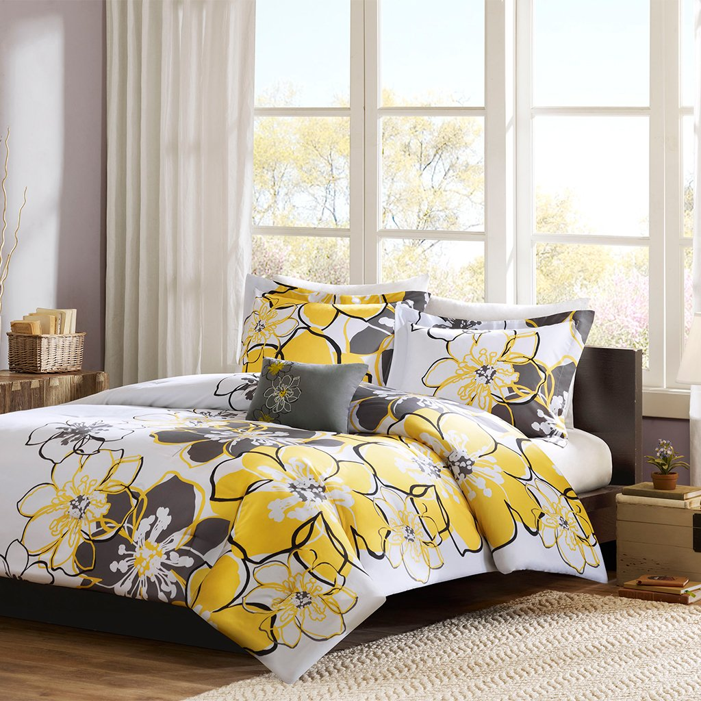 libreto comforter yellow park madison amazon dp piece home com set kitchen king