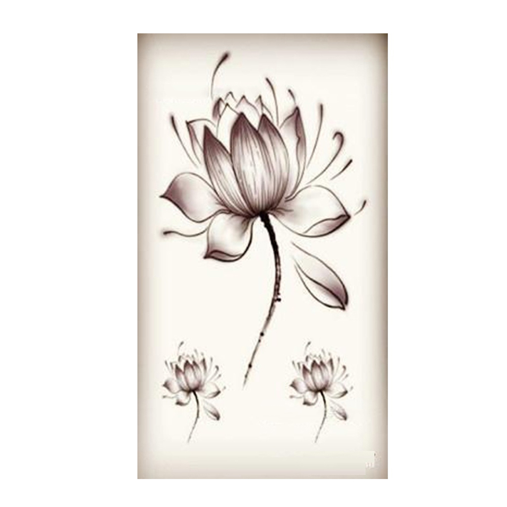 lotus fleur de tatouage achetez des lots petit prix lotus fleur de tatouage en provenance de. Black Bedroom Furniture Sets. Home Design Ideas