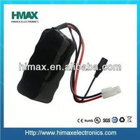 NiMH sub c 12V 3000mAh rechargeable battery pack