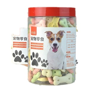 Healthy and organic dog deodorant biscuit pet snack in pet food