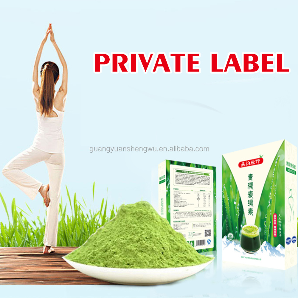 Factory direct highland barley green powder natural weight loss tips