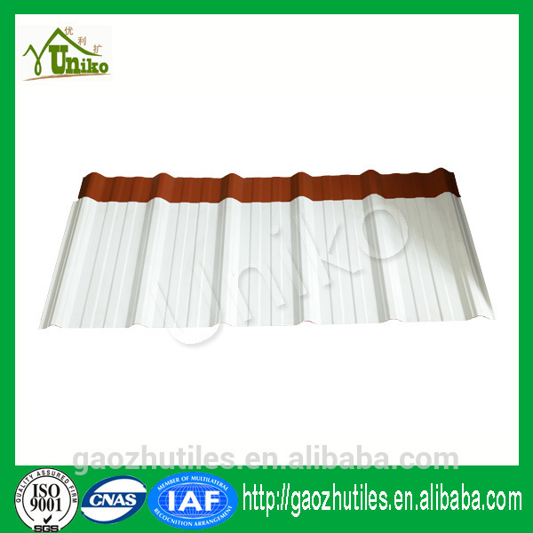super highly fireproof abrasion resistant raw material for corrugated roofing sheet to south africa