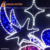 High 1.5m small bell 2D led decoration motif lights